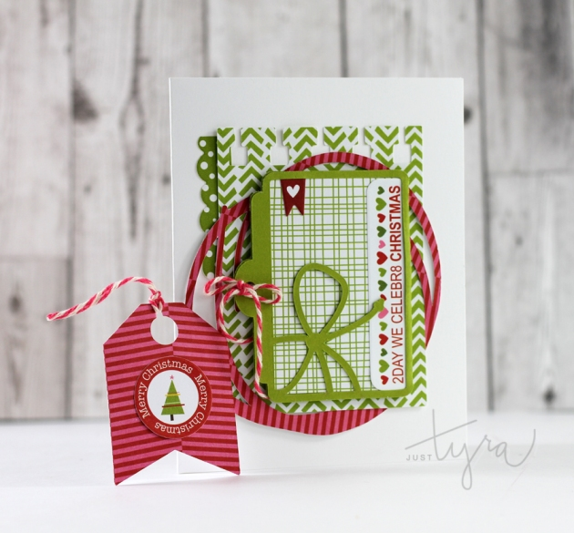 Christmas Tag Card JustTyra
