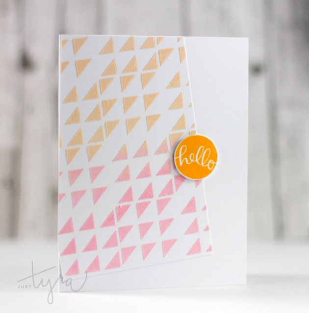 hello_embossed_card