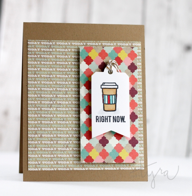 Coffee_Right_Now_JustTyra for Sweet Stamp Shop