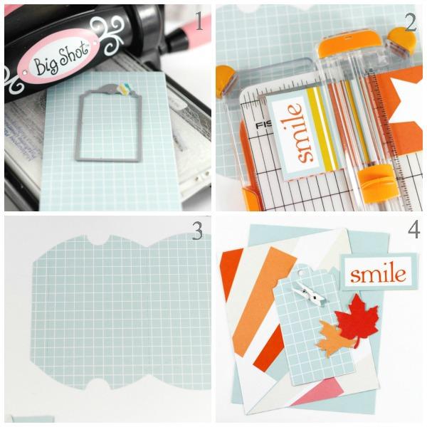 Tyra Babington Chickaniddy Smile Card Collage