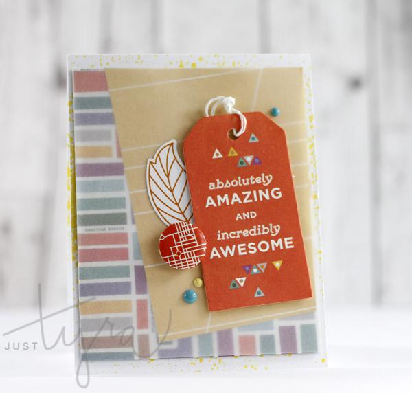 Clique Kits_October 2014 Awesome Tag Card Tyra Babington