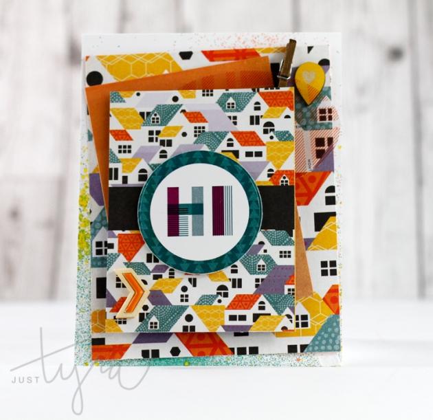 Hi Card Clique Kits Blog Share JustTyra