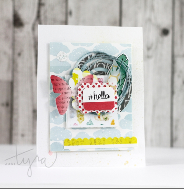 Hello Card November Homecoming Tyra Babington Clique Kits