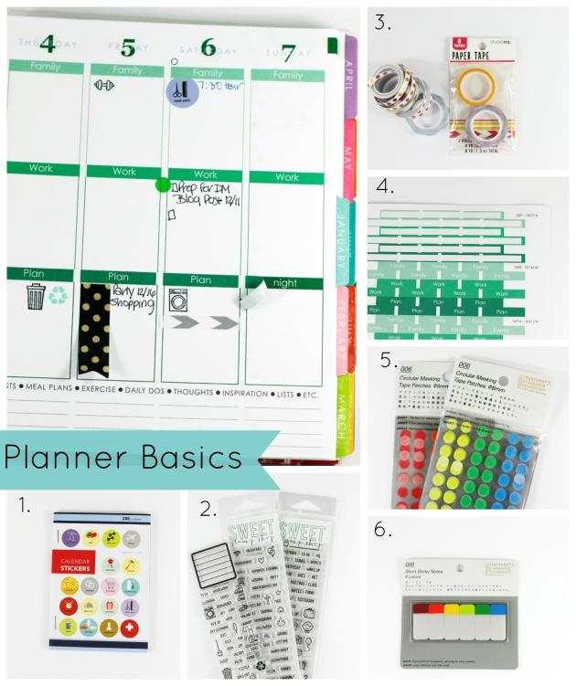 JustTyra Planner Basics