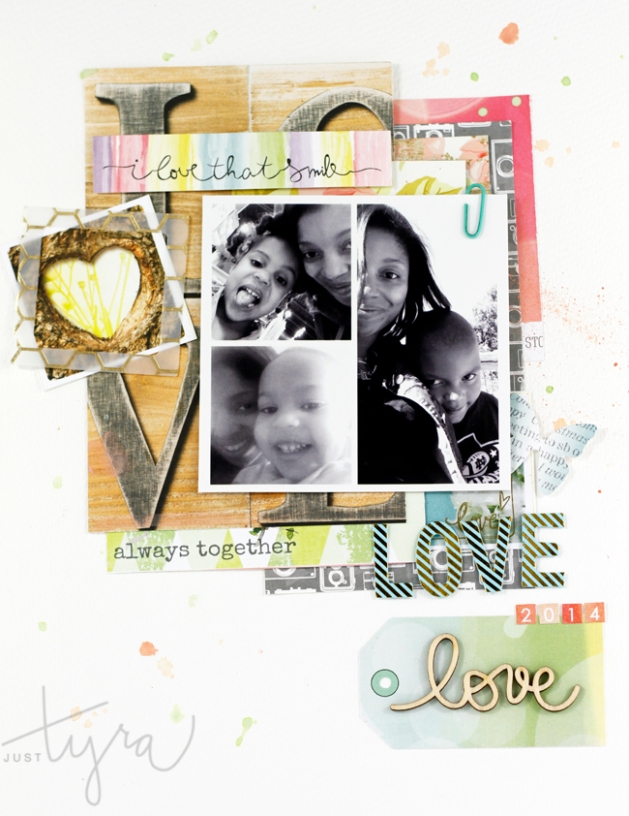 Love Layout Tyra Babington Clique Kits