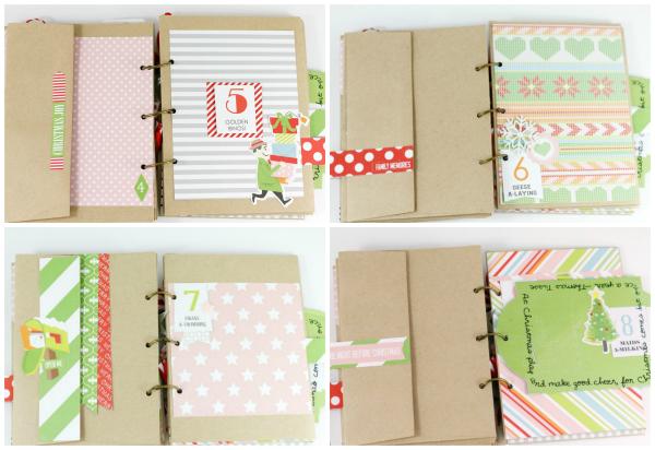 Tyra Babington MiniAlbum Collage Page 2 Jolly Good