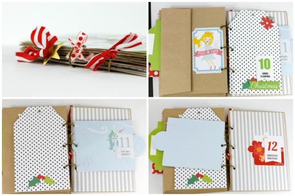 Tyra Babington MiniAlbum Collage Page 3 Jolly Good
