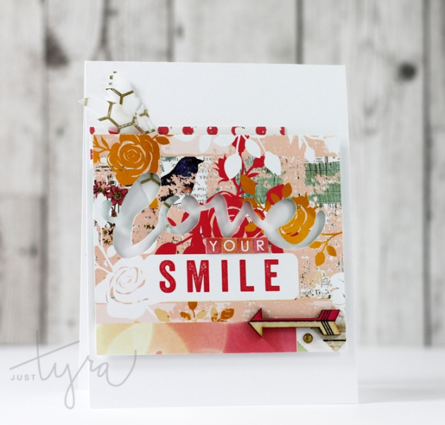 Your Smile Card Tyra Babington Clique Kits
