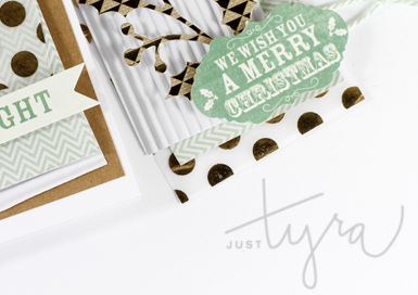 Sneak of Beautiful Ornament and Holly Branch Holiday Set Tyra Babington for DieNamites