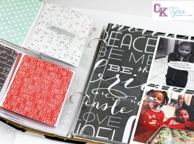 Tyra Babington Clique Kits December Journal Peek