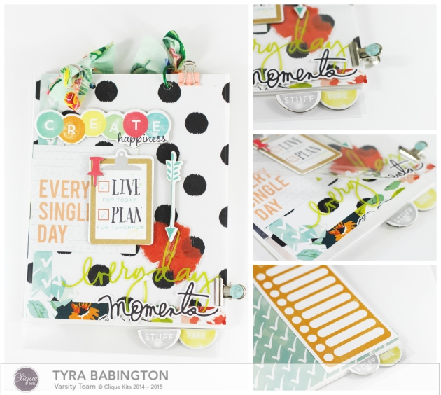 Tyra Babington Live Life and Plan Mini Clique Kits
