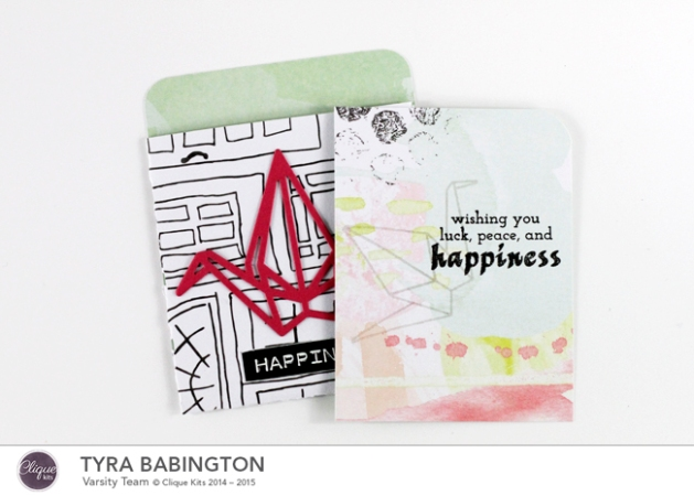 Happiness Library Pocket Clique Kits Tyra Babington