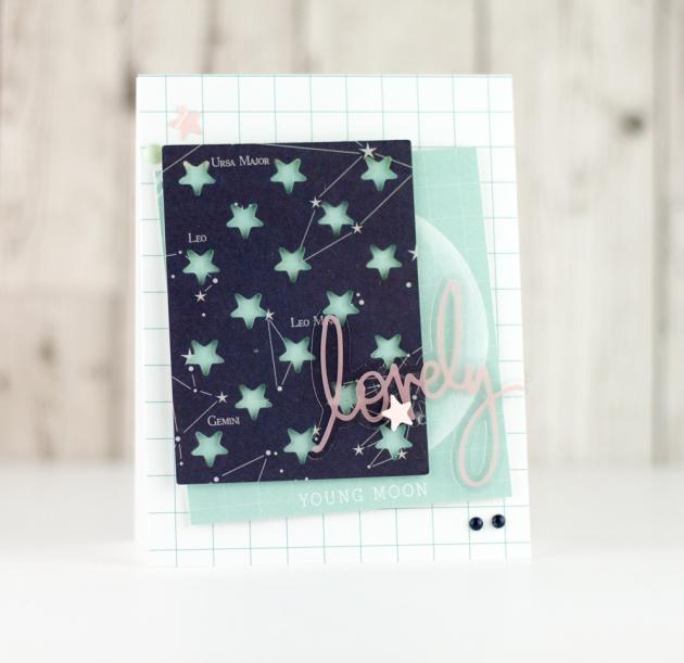 Craftwell TC A Girls Best Friend Set Star Card Tyra Babington