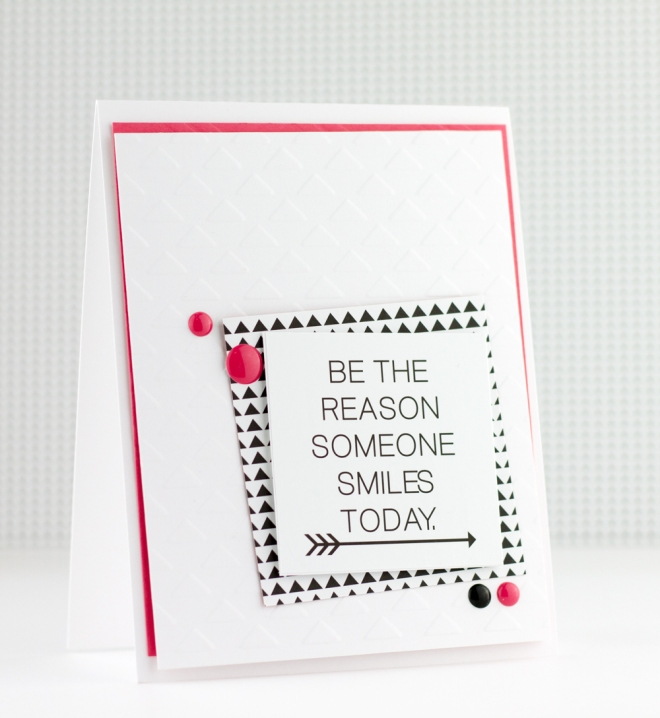 Be The Reason Card Bella Blvd Craftwell Tyra Babington