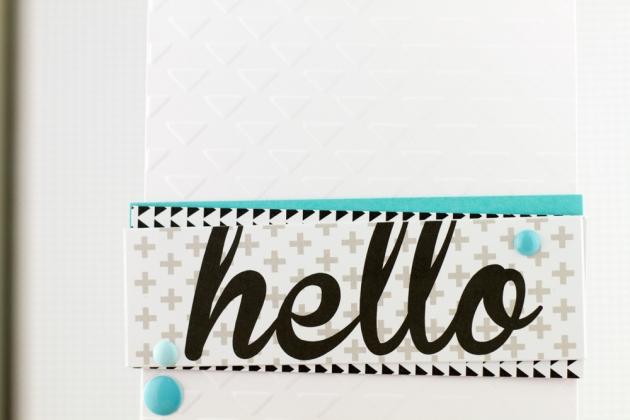 Hello Card Bella Blvd Craftwell Tyra Babington