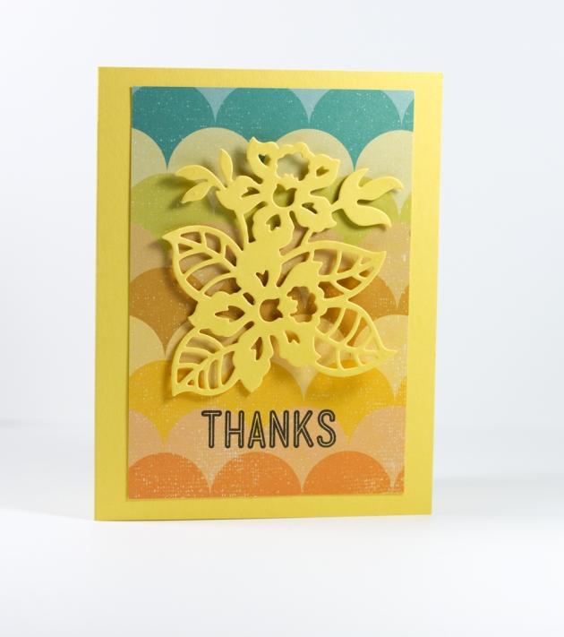 Cut N G  Yellow Card Tyra Babington for Craftwell
