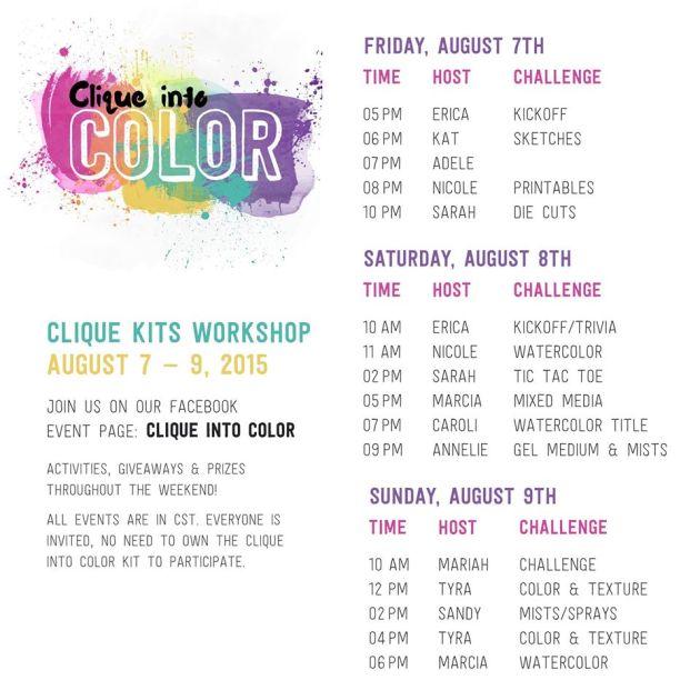 Clique Into Color