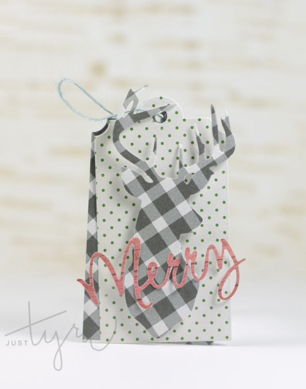 Checker Dear Holiday Tag JustTyra for Blitsy 2015jpg