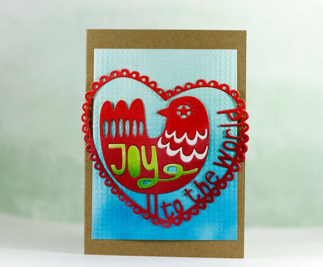 Joy To The World Card FINAL Tyra Babington for Craftwell