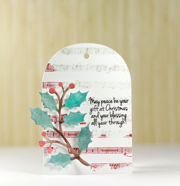 Holiday Holly Tag Tyra Babington for Craftwell