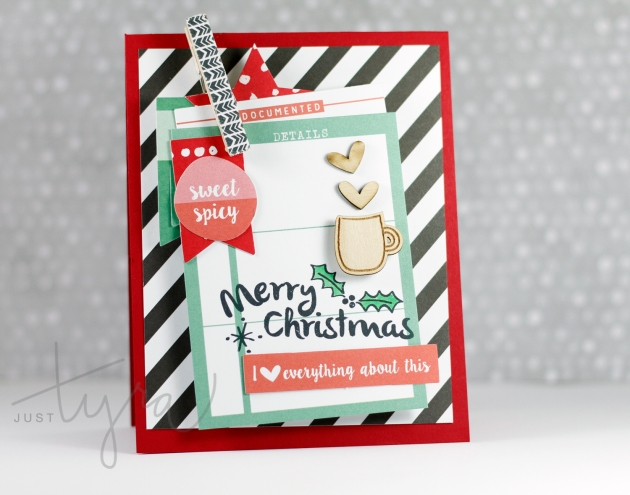 Merry Christmas 2015 Card Elles Studio JustTyra